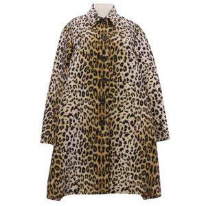 Sara Battaglia   Leopard Jacquard Coat~40